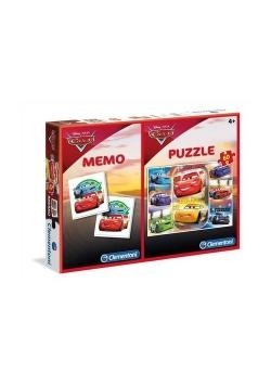 Puzzle 60 + Memo Auta