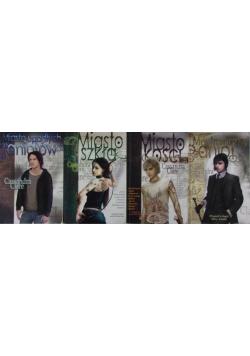 Miasto szkła/Miasto kości/Mechaniczny anioł/Miasto upadłych aniołów, zestaw 4 książek