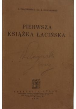 Pierwsza książka łacińska, 1928 r.