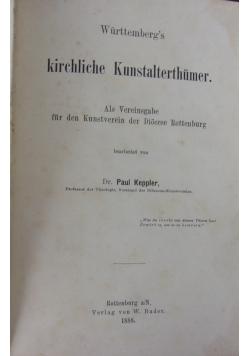 Kirchliche Kunstalterthumer, 1888 r.