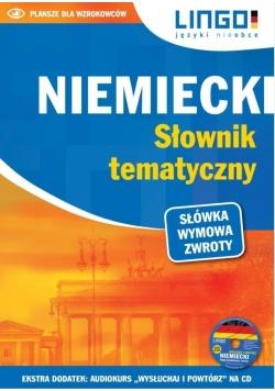Niemiecki. Słownik tematyczny. Książka + CD