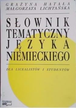 Słownik tematyczny języka niemieckiego