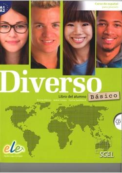 Diverso basico A1+A2 Libro del alumno + CD