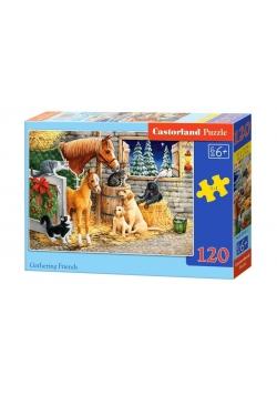 Puzzle 120 Gathering Friends CASTOR