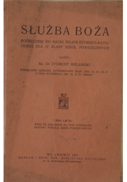 Służba Boża-1937r.