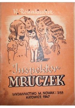 Inspektor Mruczek,1947r.
