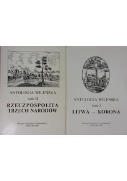 Antologia wileńska, tom I - II