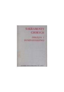 Sakramenty chorych Obrzędy i duszpasterstwo