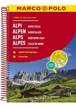 Atlas Alpy 1:300000 spirala, Zoom System, w.2017