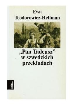 Pan Tadeusz w szwedzkich przekładach t.6
