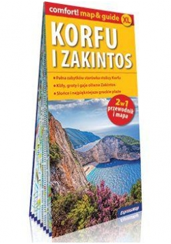 Comfort! map&guide Korfu i Zakintos