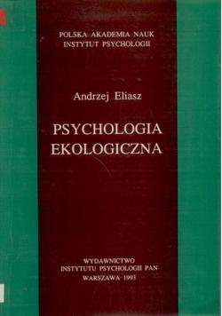 Psychologia ekologiczna