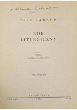 Rok liturgiczny , 1956 r.