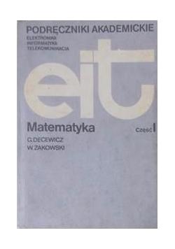 Matematyka, Tom I. Podręczniki akademickie EIT