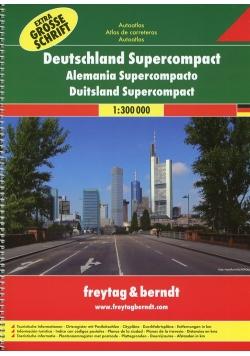 Niemcy atlas samochodowy 1:300 000