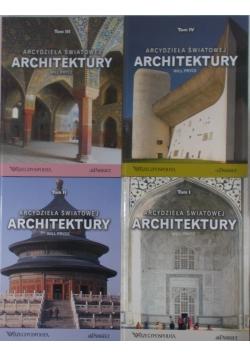Arcydzieła Światowej Architektury . Tom 1-4.