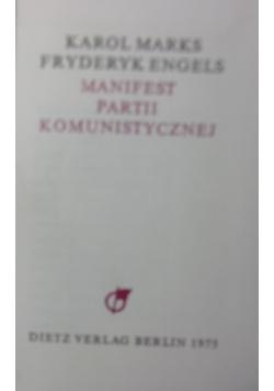 Manifest partii komunistycznej.