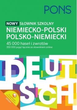 Nowy słownik szkolny niemiecko-polski, polsko-niemiecki