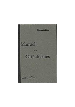 Manuel des Catechismes, 1926r.