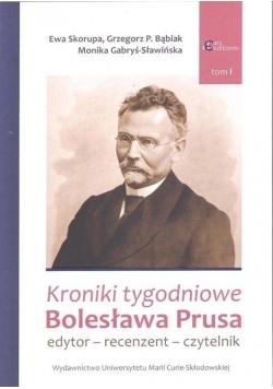 Kroniki tygodniowe Bolesława Prusa