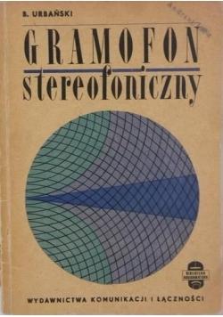 Gramofon stereofoniczny