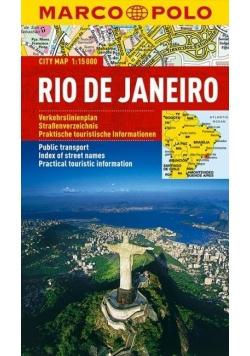 Plan Miasta Marco Polo. Rio de Janeiro