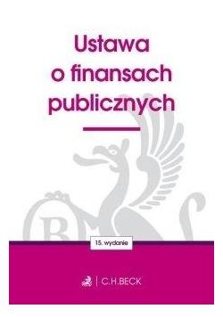 Ustawa o finansach publicznych w.15