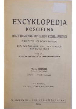 Encyklopedia Kościelna Tom XXXII, 1913r.