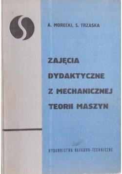 Zajęcia dydaktyczne z mechanicznej teorii maszyn