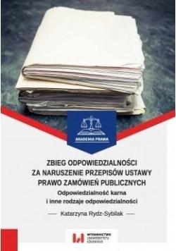 Zbieg odpowiedzialności za naruszenie przepisów..
