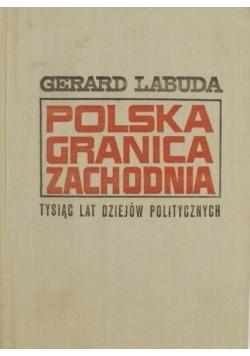 Polska granica zachodnia