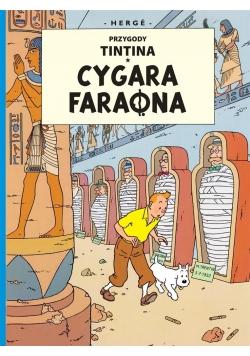 Przygody Tintina. T.04 Cygara faraona