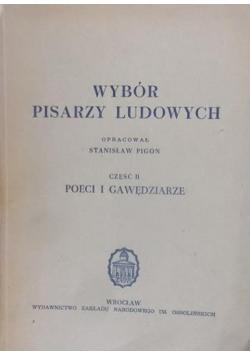 Wybór pisarzy ludowych, cz. II, 1948 r.