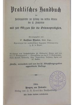 Praktisches handbuch, 1904 r.