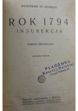 Rok 1794. Insurekcja, 1925 r.