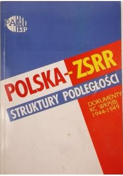 Polska-ZSRR: struktury podległości. Dokumenty WKP(B) 1944-1949