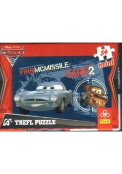 Puzzle 54 mini Auta Finn i Złomek TREFL