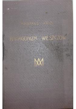 Antagonizm wieszczów, 1925r.