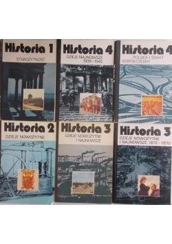 Zestaw 6 książek-Historia
