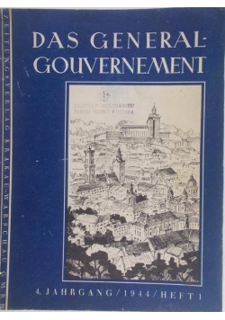 Das Generalgouvernement  I, 1944 r.