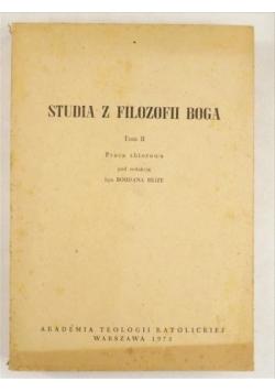 (red.) - Studia z filozofii Boga, T. II