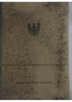 Die bau und kunstdenkmaler schlesiens, 1943r