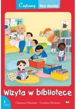 Czytamy bez mamy - Wizyta w bibliotece
