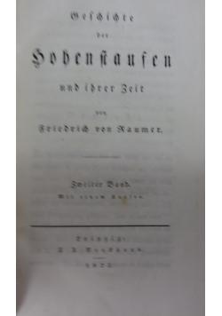 Geschichte der Hohenstaufen, 1823 r.