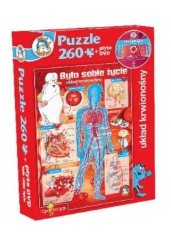 Było sobie życie - Układ krwionośny puzzle+DVD