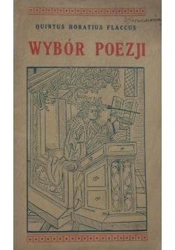 Wybór poezji, 1935 r.