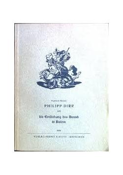 Philipp Dirr und sie Entstehung des Barock in Baiern