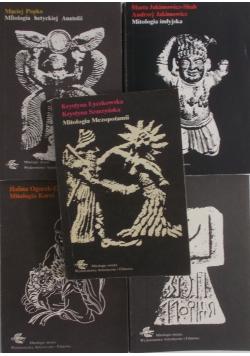 Mitologia Mezopotami - Korei-Arabów-Indyjska-Hetyckiej Anatolii-zestaw 5 książek