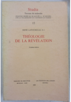 Theologie de la revelation