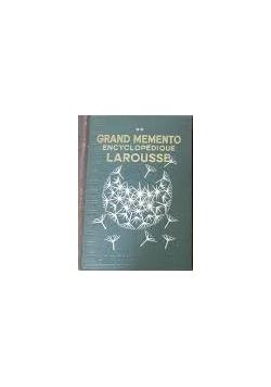 Grand Memento  Encyclopedique, 1936 r.